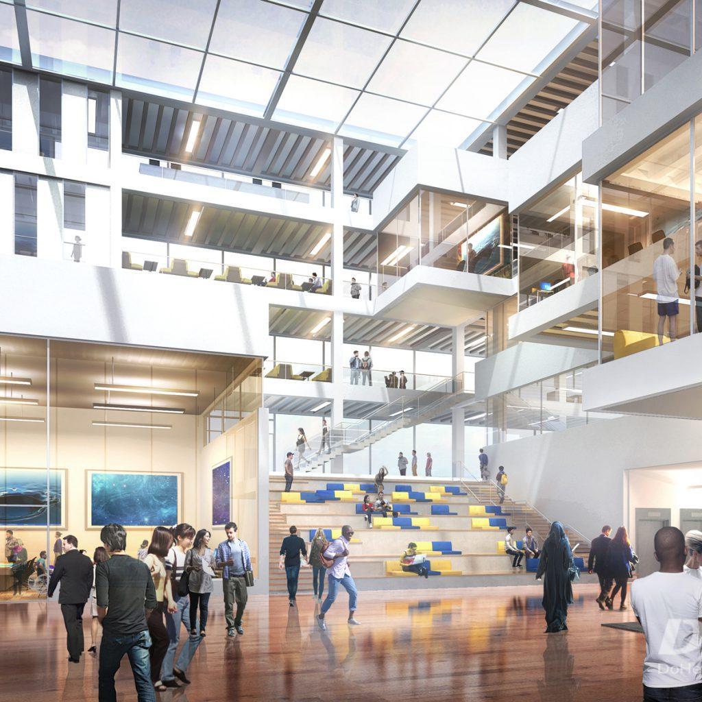 Campus atrium-4-14---Ryerson U