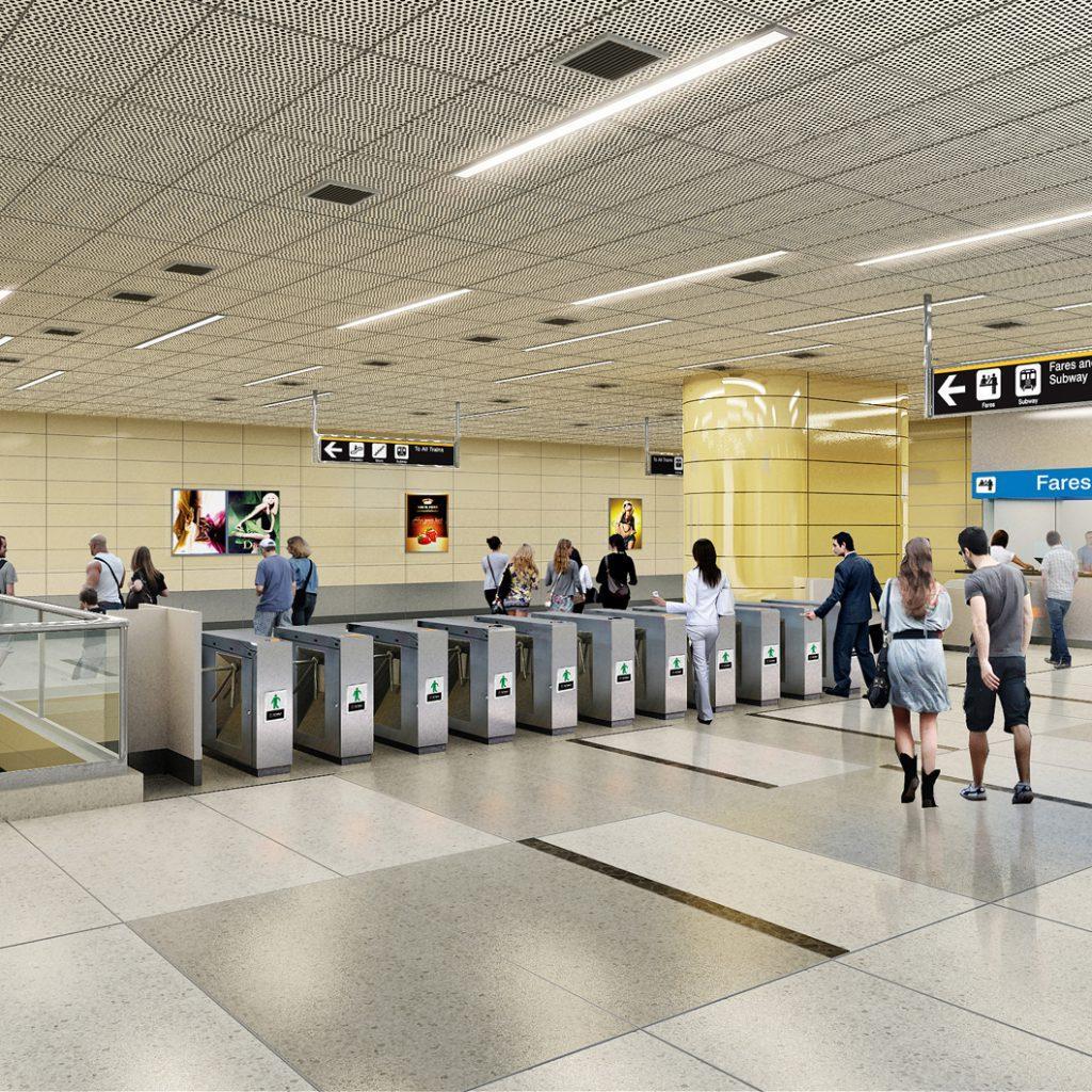 TTC Sheppard station--view-02-6-9--AECOM